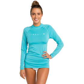 Rip Curl Sunny Rays Relaxed Longsleeve UV Tee Dames, light blue